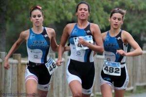 Le triathlon, un sport pour les femmes.